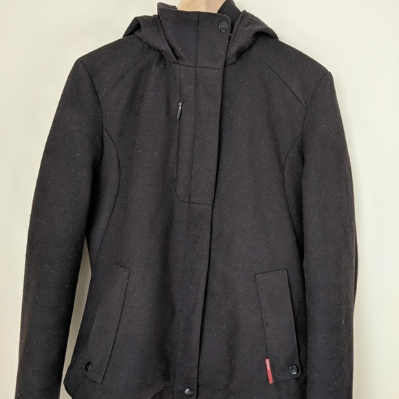 d3f59f146da Icebreaker Jackets & Blazers - Icebreaker Hooded Wool Coat